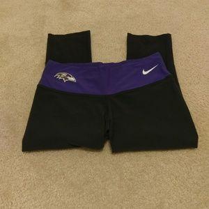 Nike Ravens Compression Pants